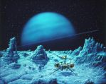 The Year's Best Science Fiction Fifth Annual by AlanGutierrezArt
