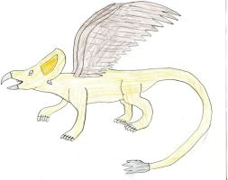 Pony Prehistory: Protogryphon by Wesdaaman