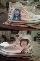 Corpse Bride Shoes by mary-DBBC