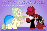 Pony Prom - Kala Marie and Sukisuki by aisu-isme