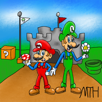 Super Mario Bros by Marcusthehedgehog