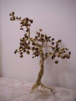 Tiger's Eye Tree sans glass by KimsButterflyGarden