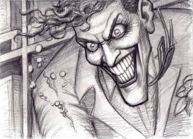 Joker (close up) by myconius