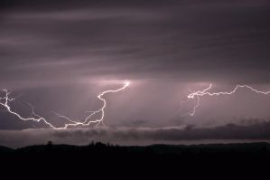 The Dazzling Sight of Lightning by Corvidae65