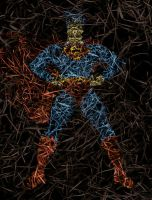 Paper Man of Steel No.2 by kparks