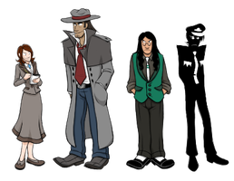 Noir Sprites by ZiBaricon