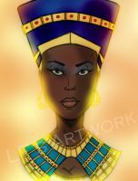 Egyptian Queen by DiamondLegacy