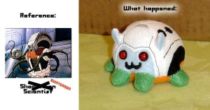 Puggleformer - Quintesson Fail by callykarishokka