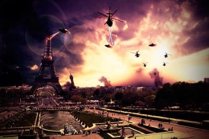 Paris Burning by gregorycolmont