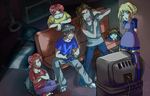 Video Game Hangout by Voiii