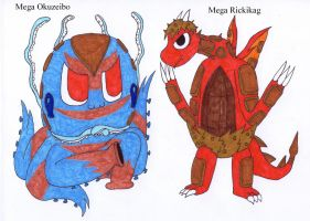 Fan made Mega Fossils 1 by AndkeAnka
