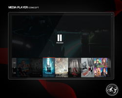 Media Player Concept by azad720
