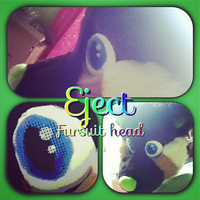 Eject Fursuit head by Sockune