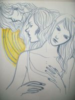 always an arms length from me by strayheadache