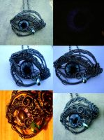 New Mythical Tears Eye Pendant Series 1 by LadyPirotessa