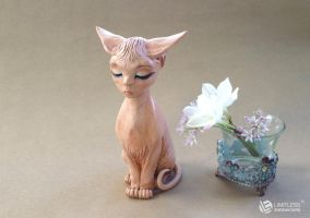 Sphynx Goddess by LimitlessEndeavours