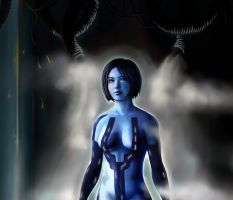 Halo 4 Cortana Background Medium by PriceJames