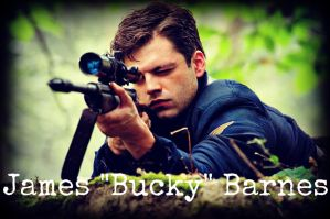 Bucky Barnes by UniqueAngel5