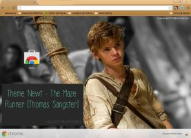 Theme for Google Chrome Newt - TMR by Mariqarmen