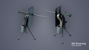 Stargate M2 Browning by skywalger
