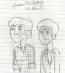 Lennon and McCartney by IndieChickZoey