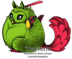Natu for Purchase by LabyrinthAdoptables