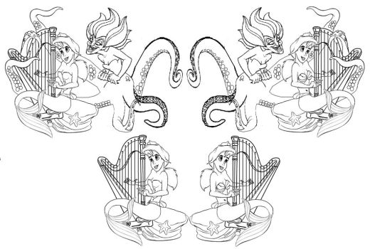 Harp string Melody by butterfly33333