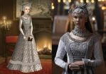 Anne of Cleves' Silver Wedding Gown Ver. 1 by LadyAquanine73551