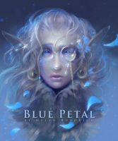 blue petal - final by oione