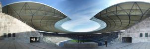 Olympic Stadium Berlin 1 by DOTTHL