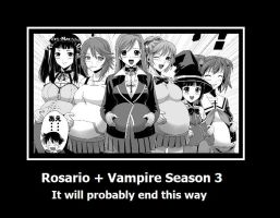 How Rosario + Vampire will probably end by kharec84