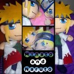 Minato and Naruto Plush by DeadBelle