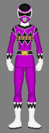 Karone as the Galactic Space Ranger by Soluna17