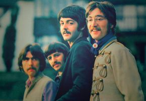 pretty Beatles by elooly