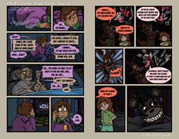 FNAF4 Comic - House Party - Page 13 - 6-22-16 by Mattartist25