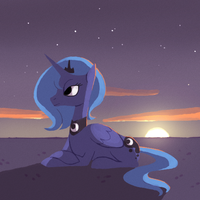 Setting Sun by Karzahnii