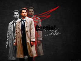 Castiel by angeinerte