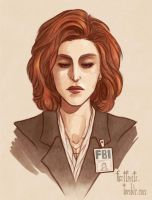 Dana Scully by CrystalCurtis