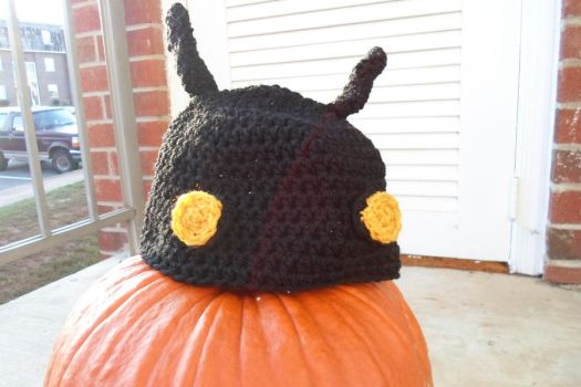heartless hat by limeygreen
