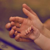 Mommy, Daddy, Eve hands 2 by duskOFsummer
