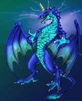 blue wyrm colors by mafagafa