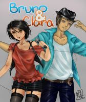Bruno and Clara by KazumiMai