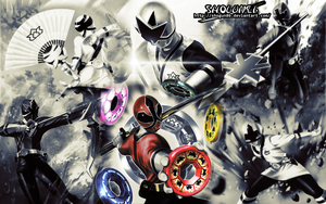 Samurai Sentai Shinkenger Wallpaper by ShoguN86