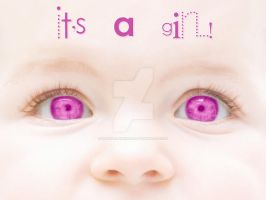 It's A Girl by karemelancholia