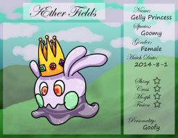 PKMNation Ref - AEther Fields - Gelly the Goomy by VampirateMace