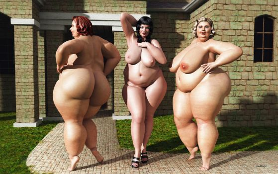 BBW_Overweight Housewifes 2 by Rendermojo
