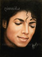 Portrait of Michael Jackson by zimnika7