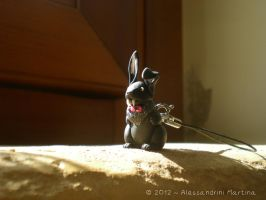 FIMO - vampire rabbit by Alessandrini96