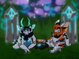 A Night in the Garden of Good and Evil by GeekWayne