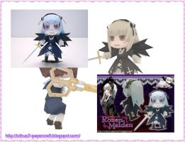 Suigintou Chibi from Rozen by enrique3